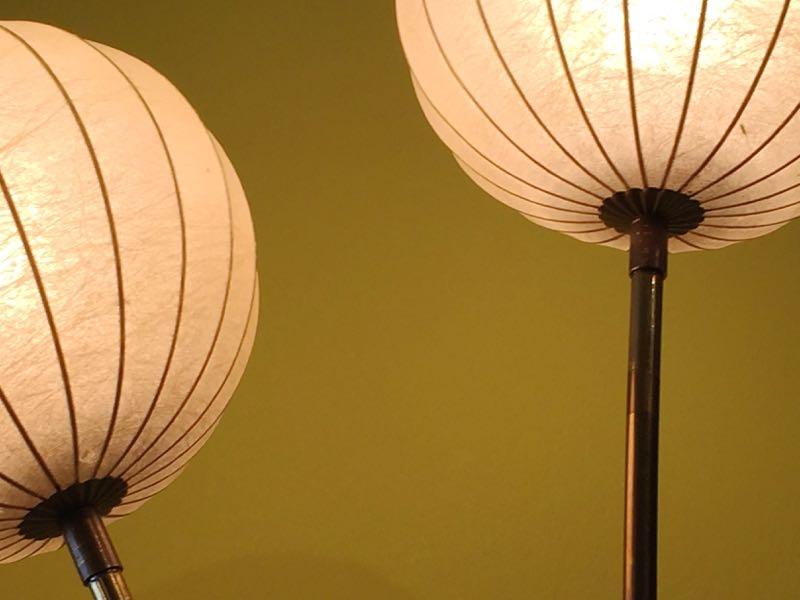 fifties stehlampe. Black Bedroom Furniture Sets. Home Design Ideas